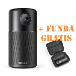 Nebula Capsule Mini Projector funda 2